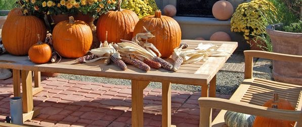 patio furniture fall