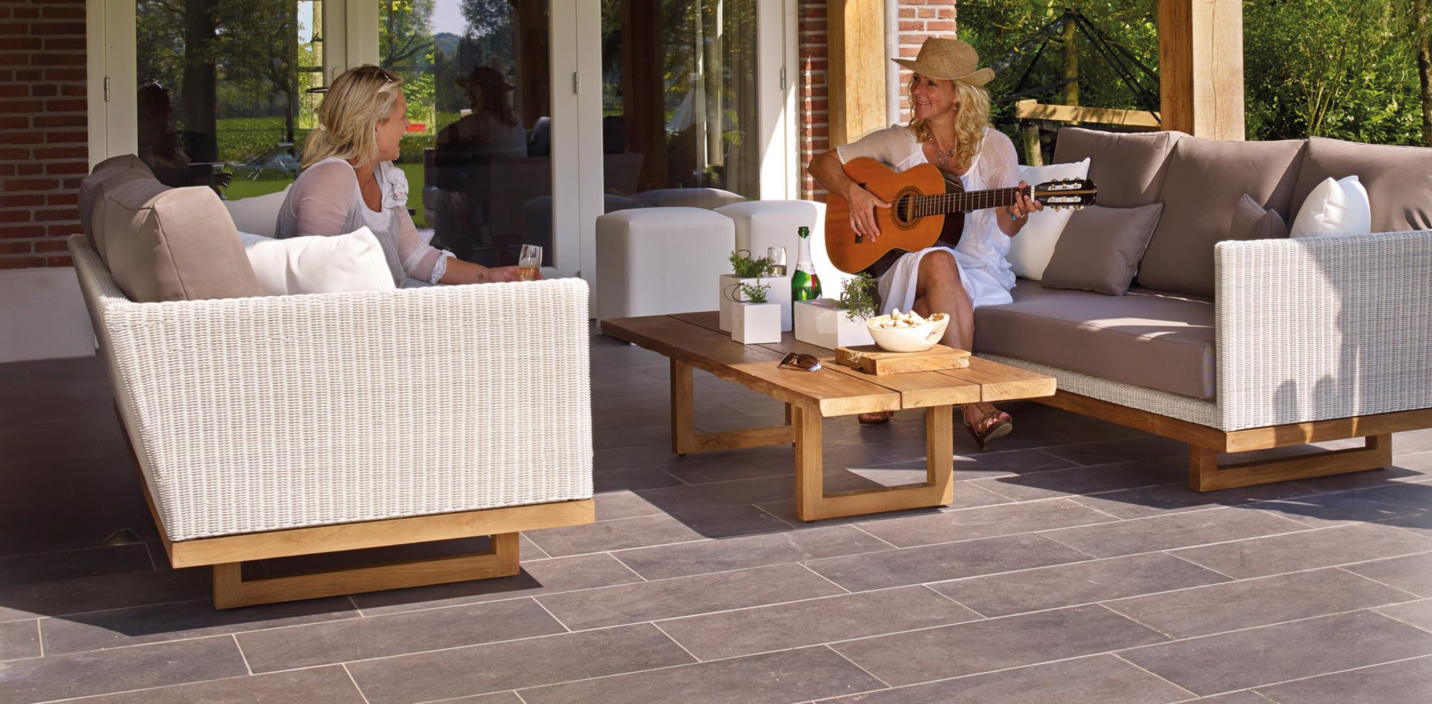 preparing your patio