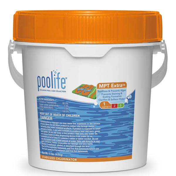 "POOLIFE MPT Extra 3"" Chlorinating Tablets - 11lb"