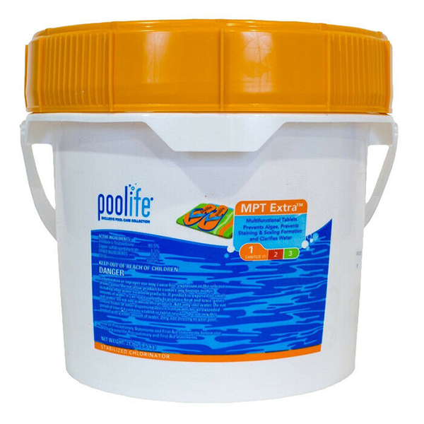 """POOLIFE MPT Extra 3"""" Chlorine Tablets - 21lb LOCAL DELIVERY ONLY"""