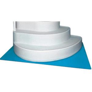 "HydroTools Swimline 45x60"" Protective Pool Ladder Mat Step Pad"