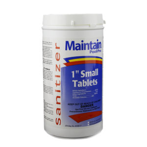 Maintain Pool Pro 1-inch Small Chlorinating Tablets
