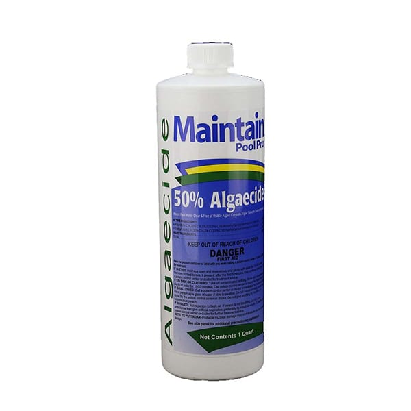 Maintain Pool Pro Algaecide 50% - 1qt
