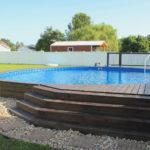 Stealth Semi-Inground Pool
